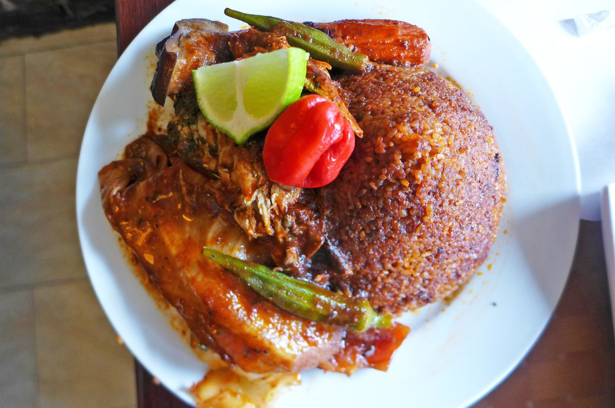 Cheb, the national dish of Senegal