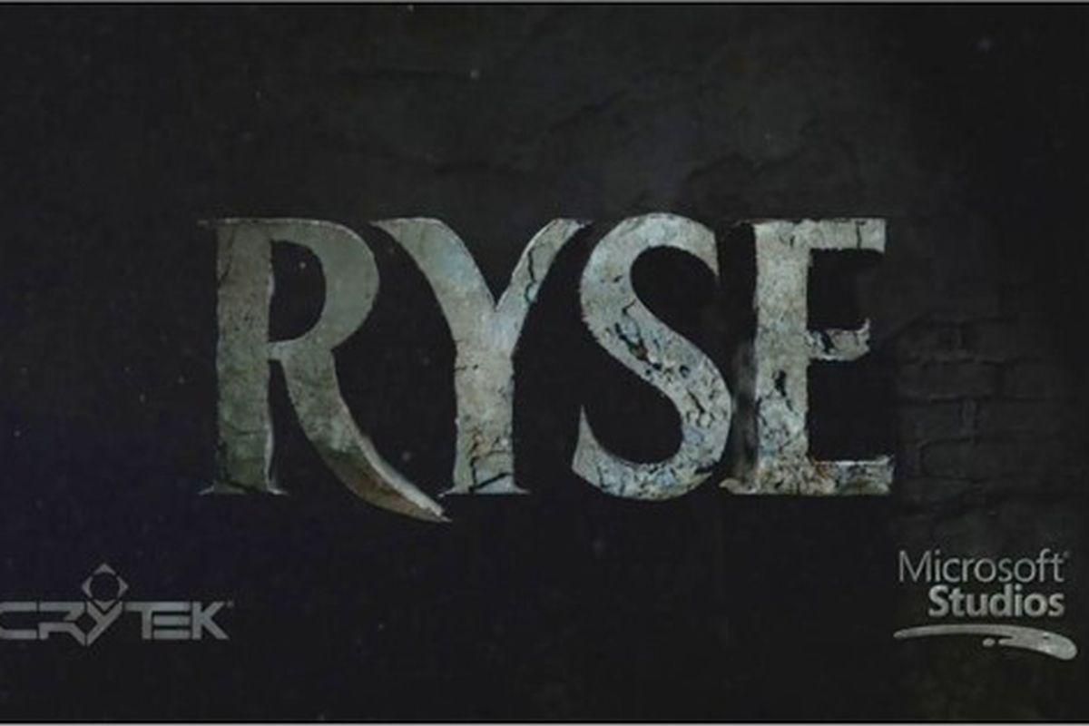 Ryse logo, Microsoft Studios