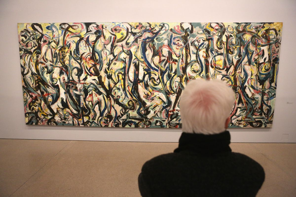 'Jackson Pollock's Mural: Energy made Visible' Exhibition Preview In Berlin