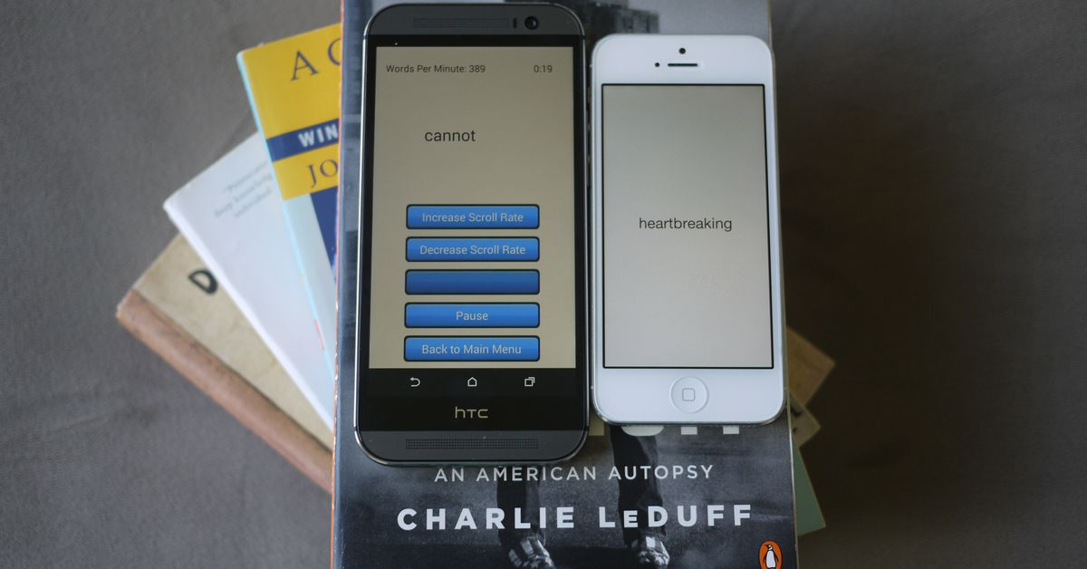 Apps That Train You to Read Faster, One Word at a Time - Vox