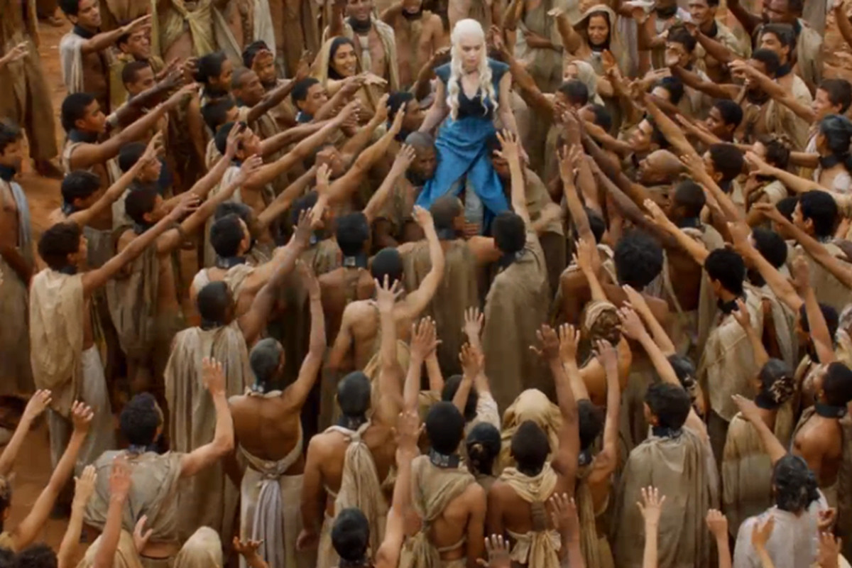 Not everyone loves you this much, Khaleesi.