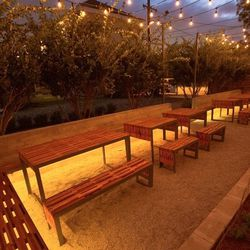 """4.) The outdoor area at <a href=""""http://nola.eater.com/tags/pizza-delicious"""">Pizza Delicious</a>, best enjoyed with friends and family."""