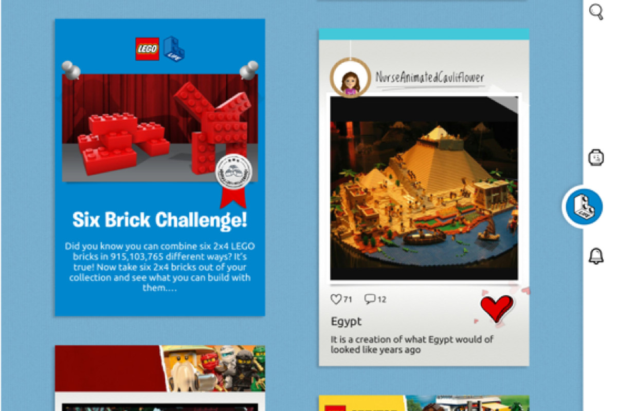 Lego Life Is A Social Network For Kids To Share Their Creations