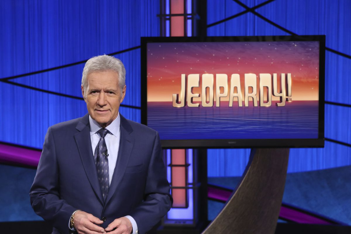 Alex Trebek's final week of episodes will air through Jan. 8. The final five shows were taped in late October.