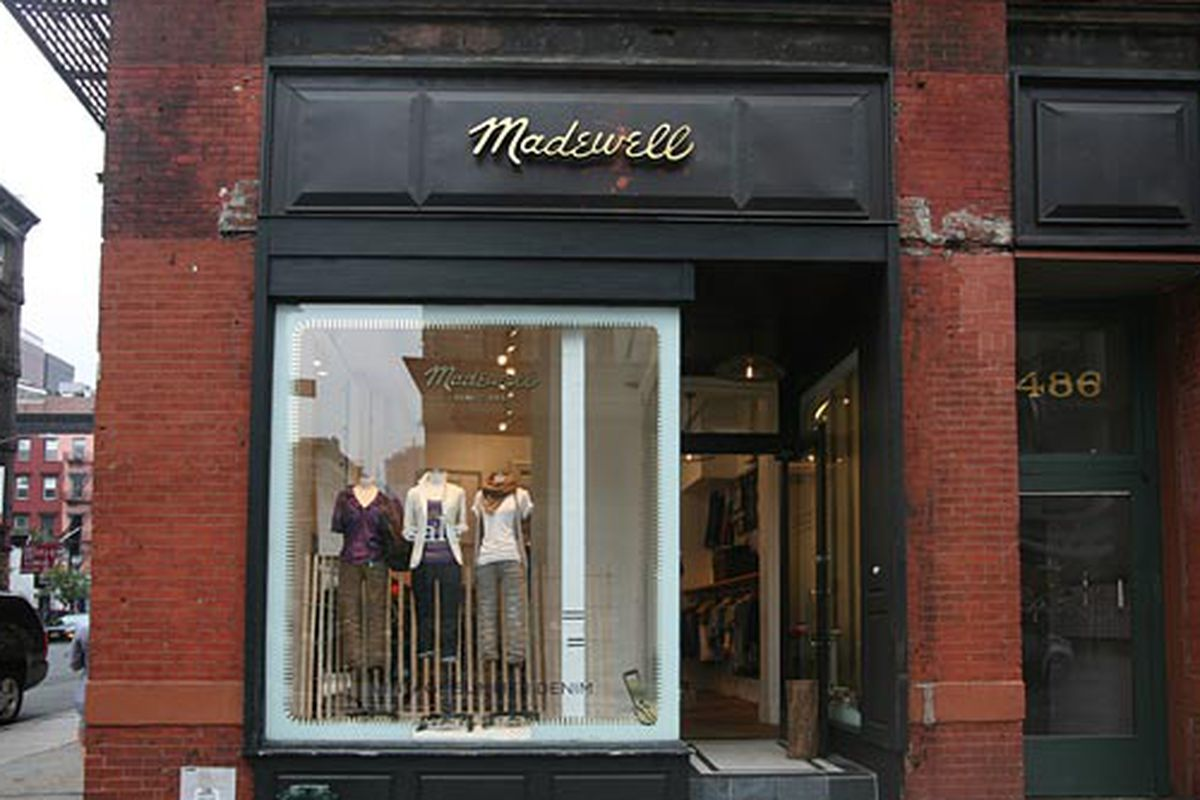 """Madewell in Soho; Image via <a href=""""http://nymag.com/listings/stores/madewell/"""">NYMag</a>"""