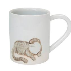 SKT Ceramics large otter mug, $53