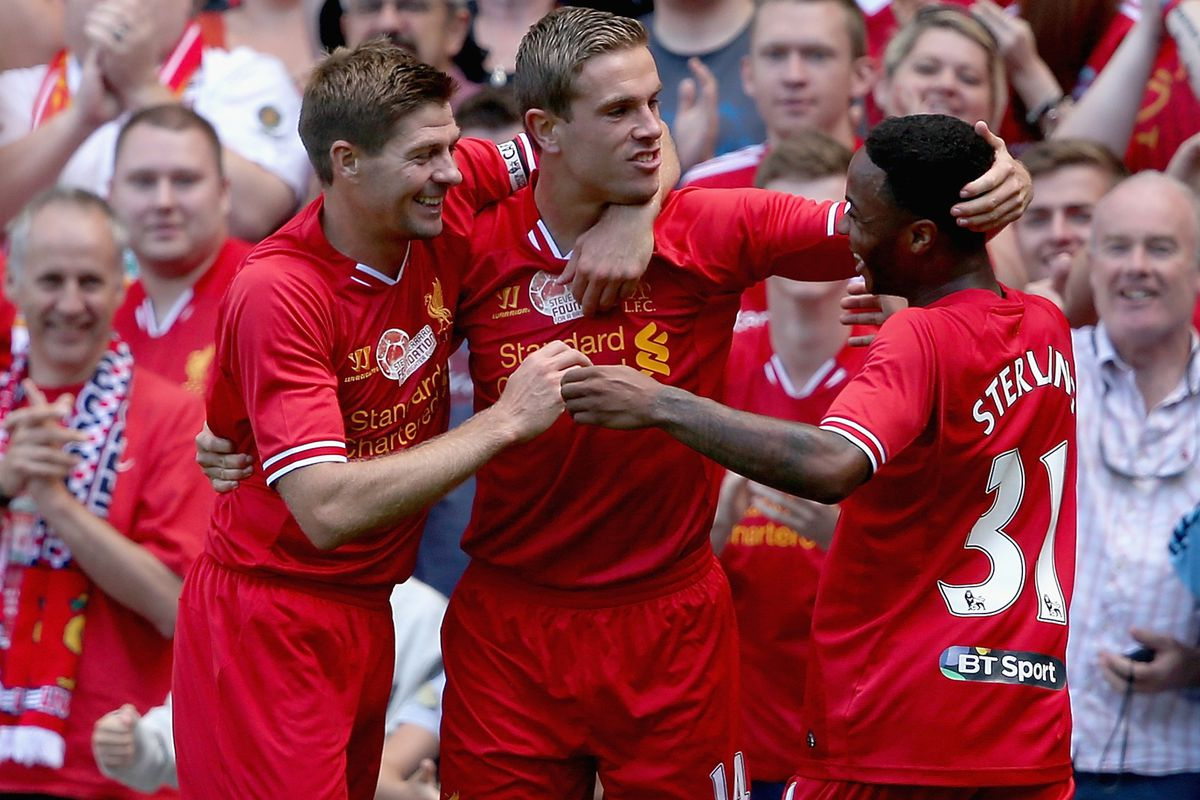 Hendo and Stevie were particularly pleased when Raheem got a sensible haircut.