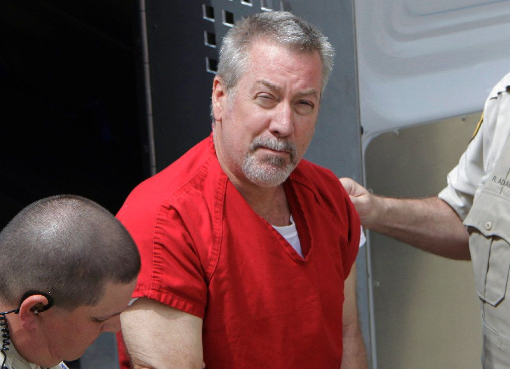 Wife murderer Drew Peterson has been transferred to a prison in Terre Haute, Indiana. | AP
