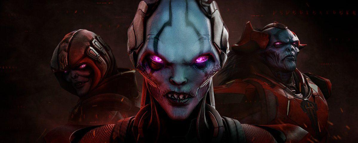 XCOM 2: War of the Chosen art - three aliens