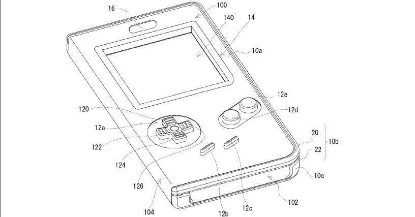 nintendo patented a nostalgia-inducing playable game boy case