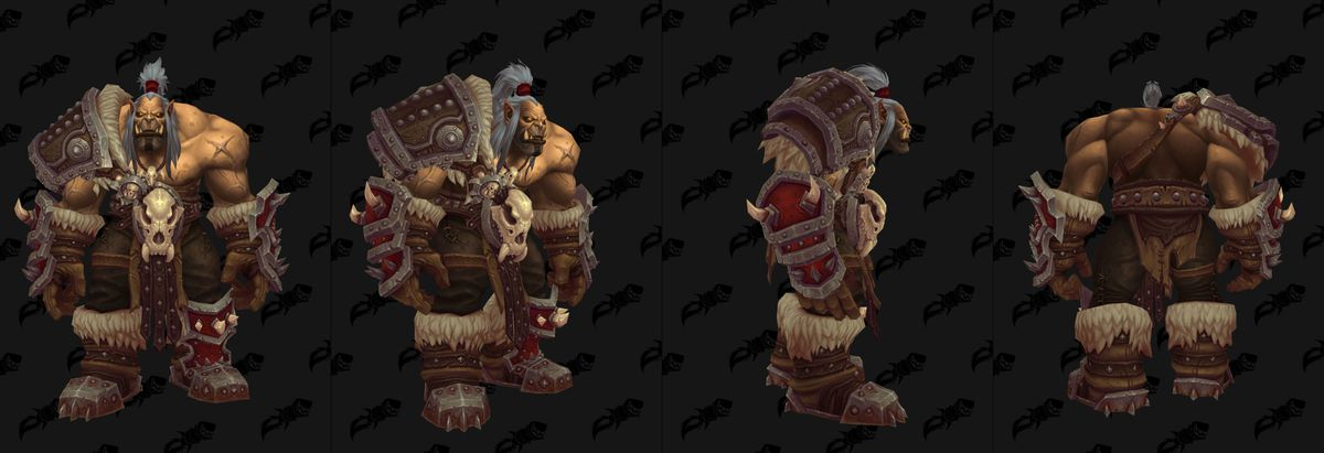World of Warcraft - old Grommash Hellscream