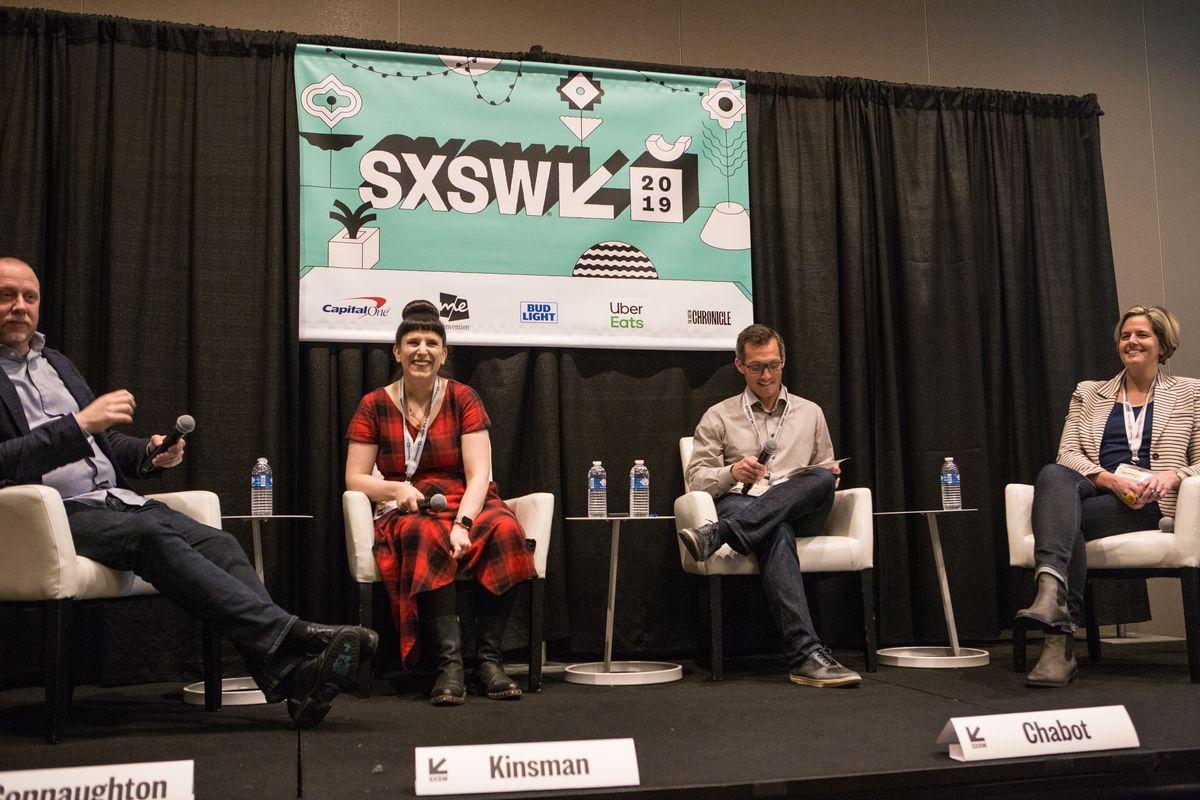Kat Kinsman's SXSW panel, Ingredients for an Empathetic Kitchen, withKyle Connaughton, Andy Chabot, and Sarah Robbins