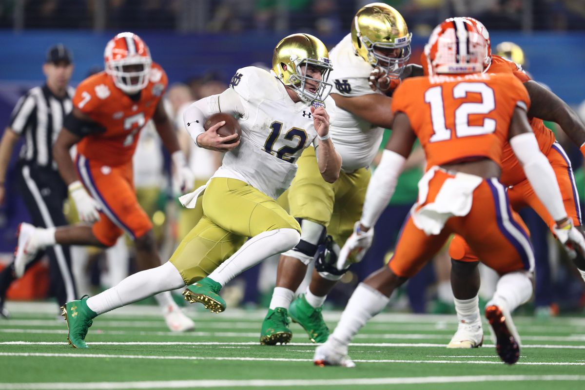 Notre Dame Implodes In Cotton Bowl Loss To Clemson, 30-3 - One Foot Down
