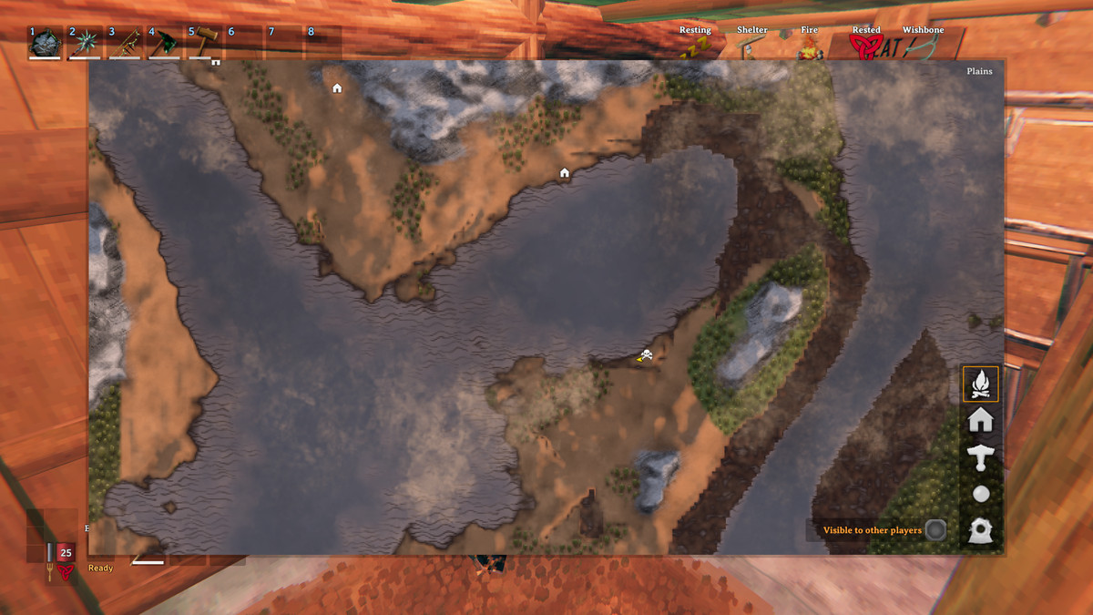 Valheim plains biome map