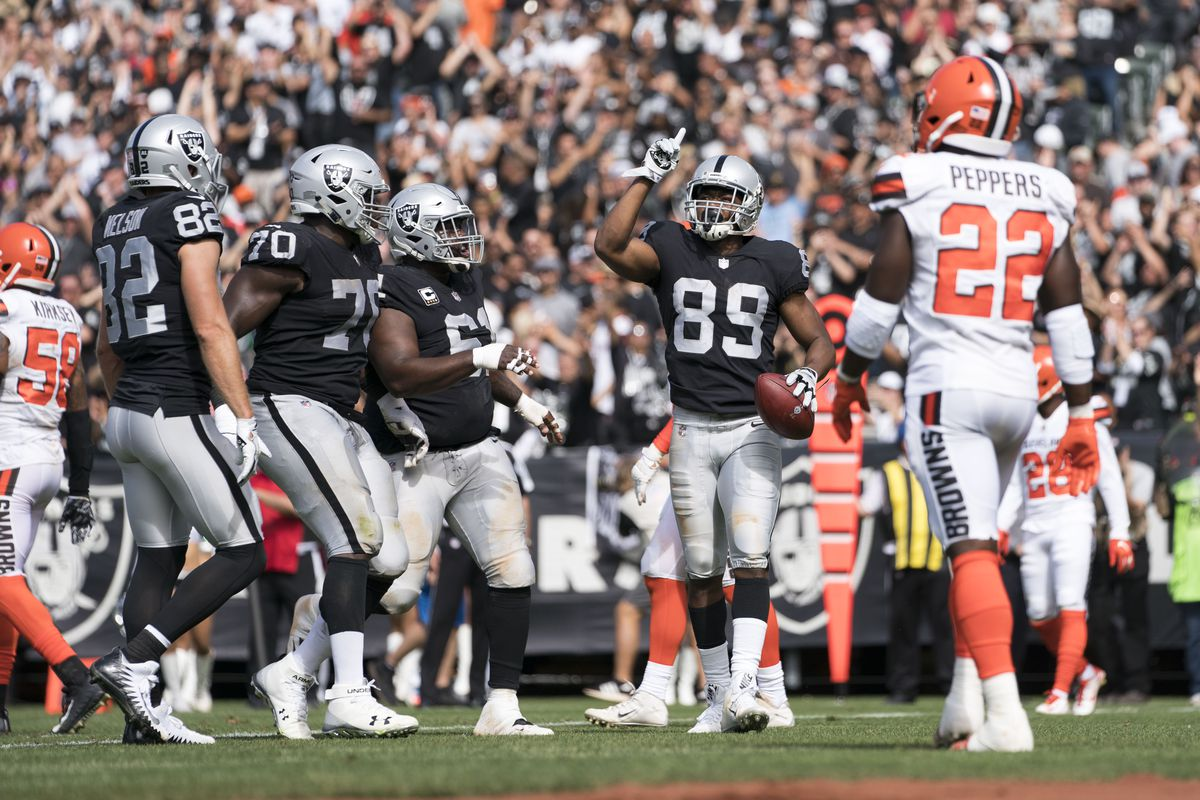 Raiders offensive quartet sets franchise mark and other superlative in win  over Browns 766f06394