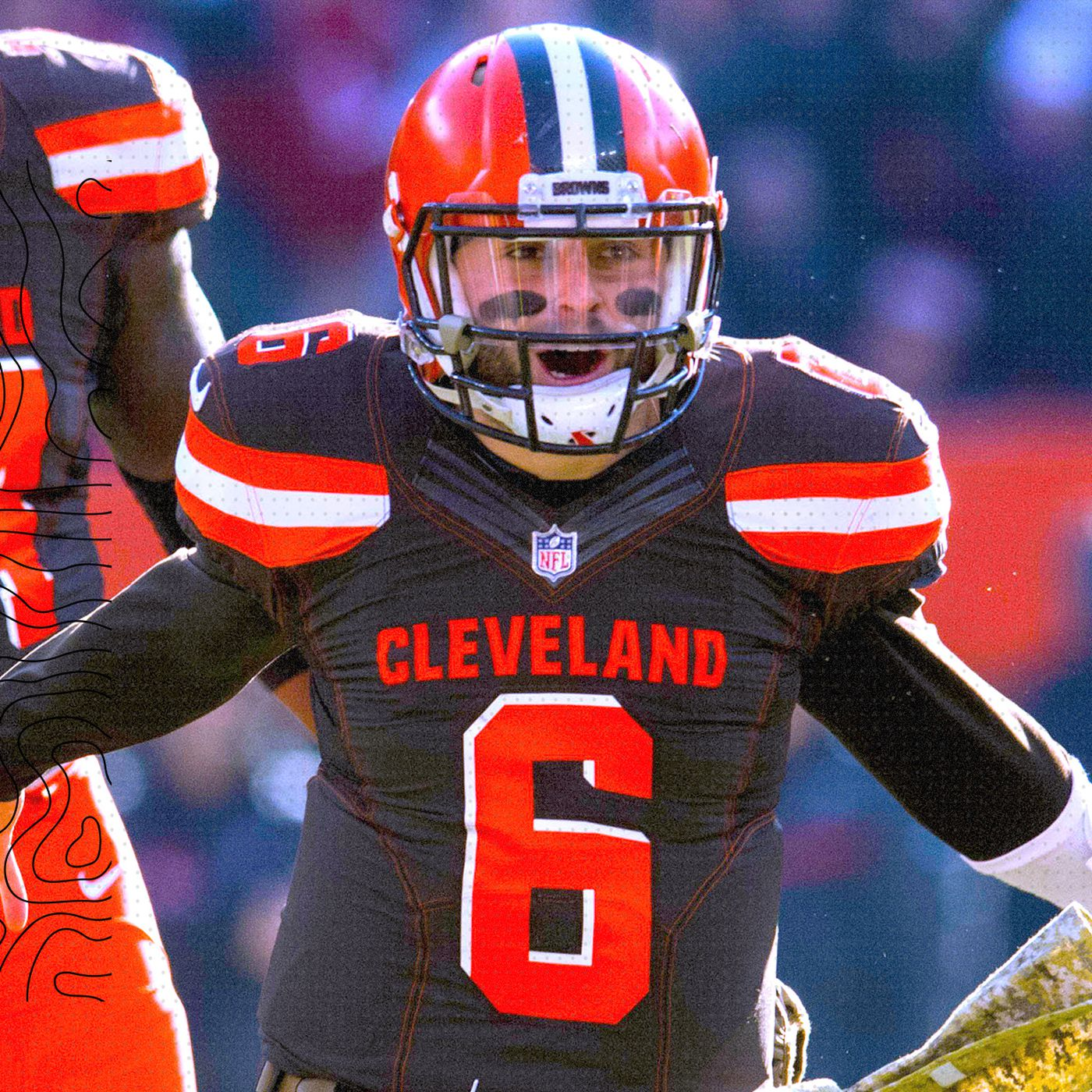 buy popular 87d2b 0b3a0 Why Baker Mayfield is thriving since the Browns fired Hue ...