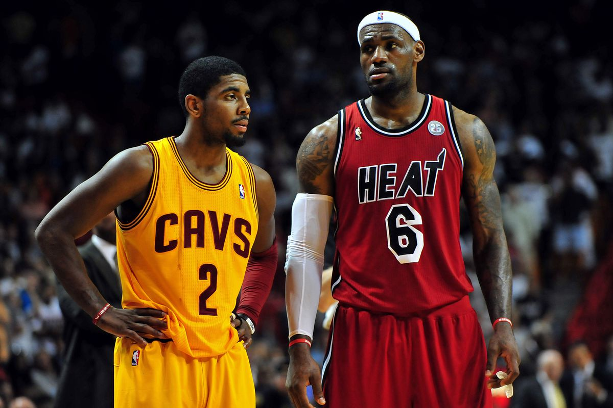 648f98d72294 Cleveland Cavaliers vs. Miami Heat  Let s talk about LeBron James and stuff