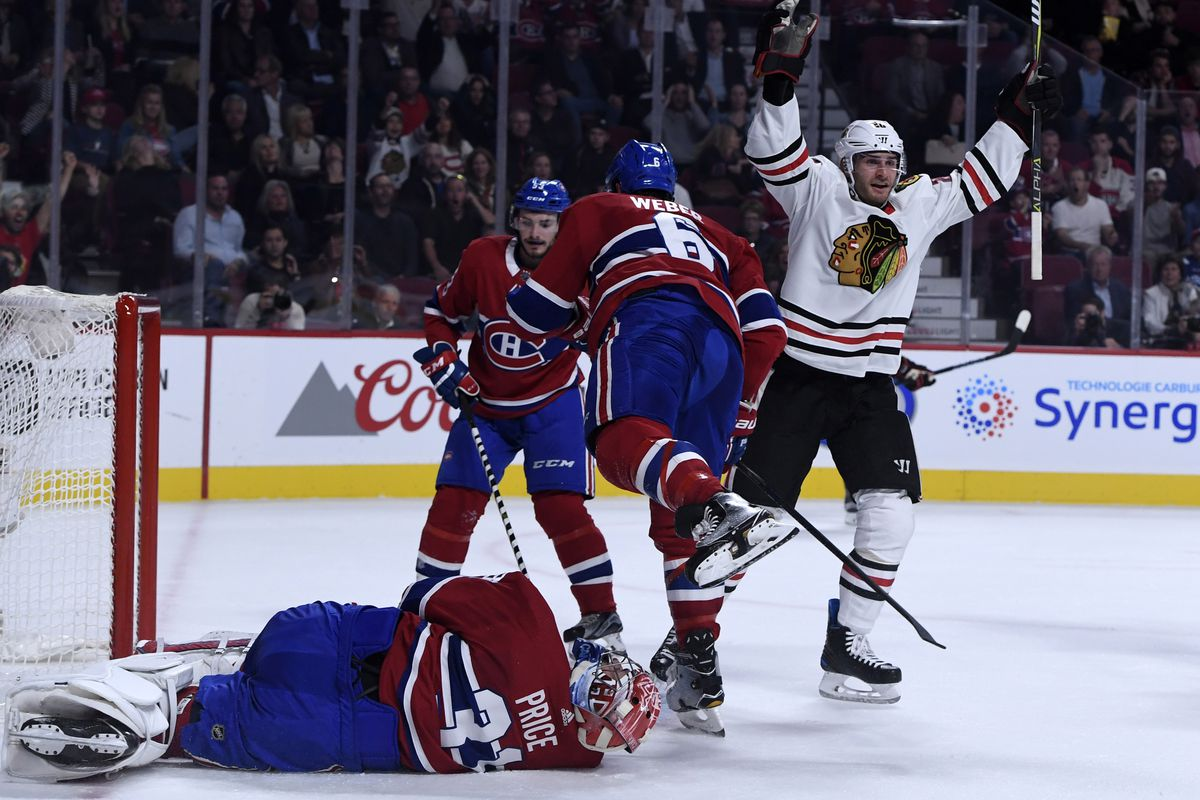 NHL: Chicago Blackhawks at Montreal Canadiens