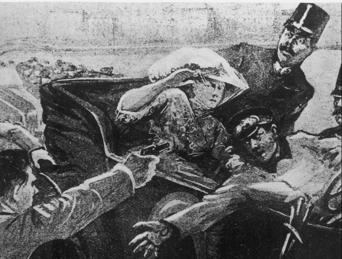 The assassination of Archduke Franz Ferdinand of Austria.