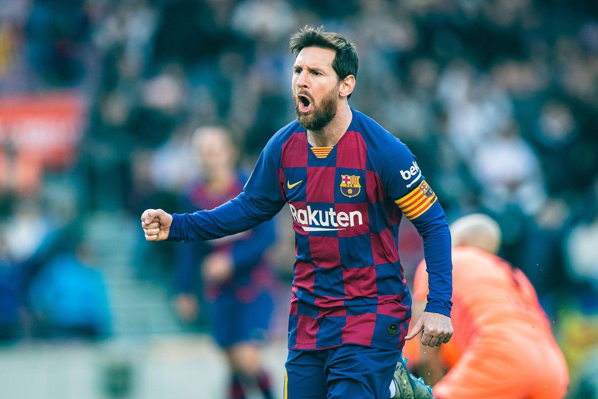 La Liga: FC Barcelona V Eibar