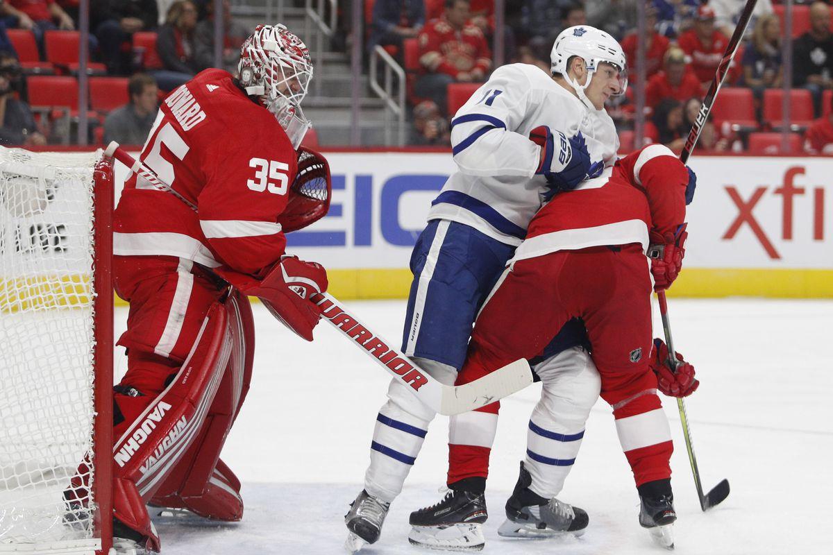 NHL: Preseason-Toronto Maple Leafs at Detroit Red Wings