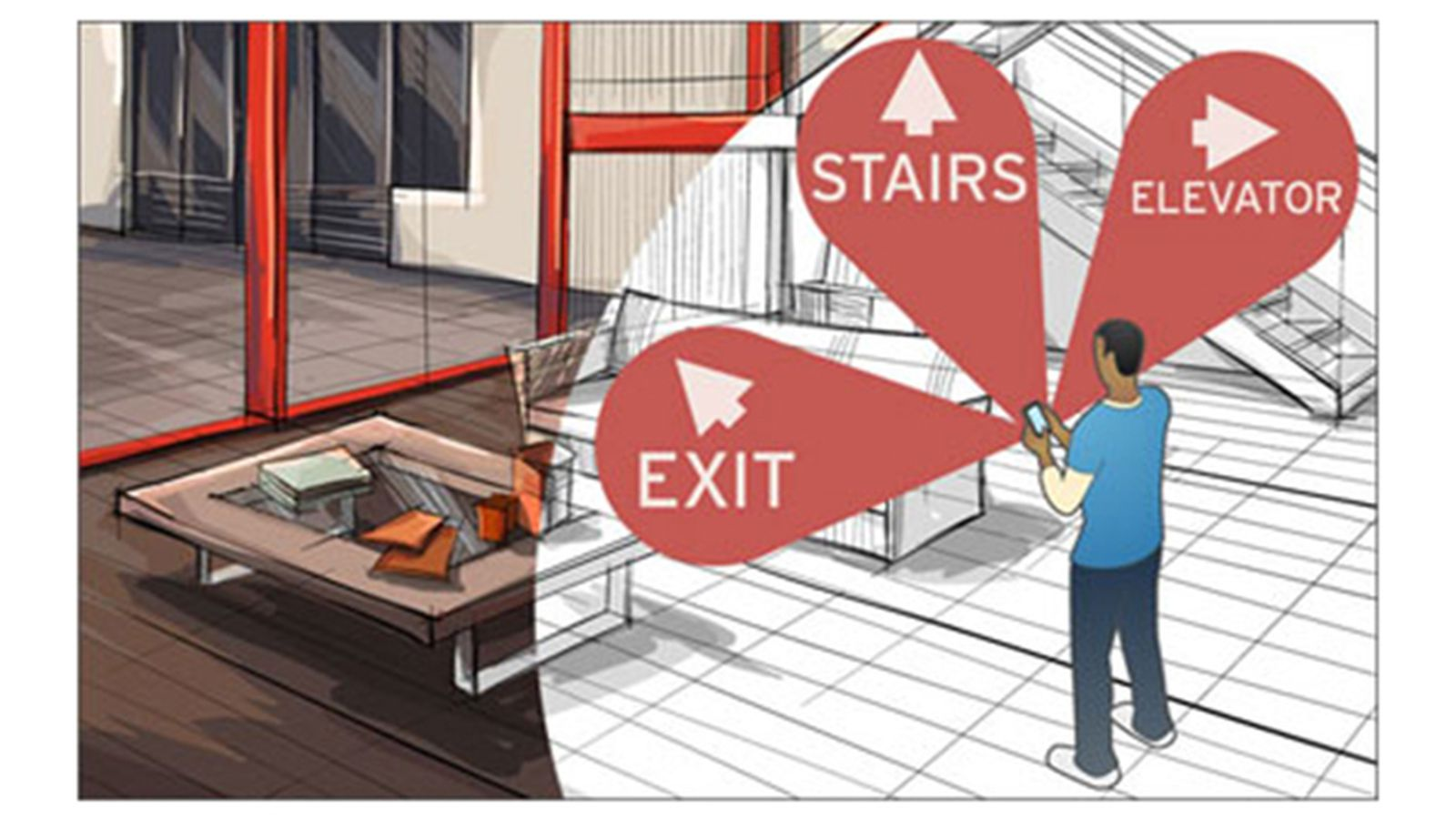 Duke researcher achieves high accuracy indoor navigation for Indoor navigation design