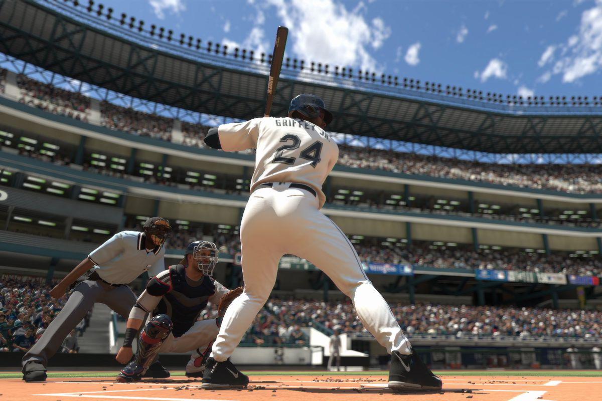 MLB The Show 17 - Ken Griffey Jr. swing
