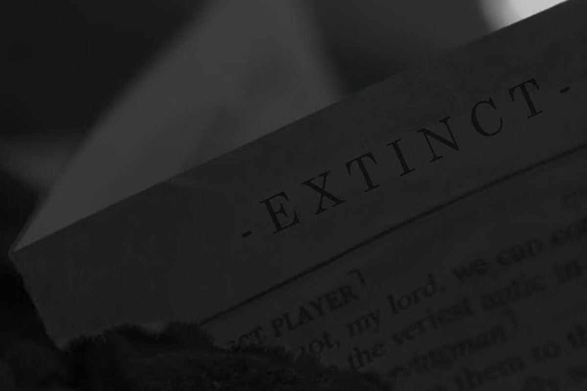 """REASON's """"Extinct (Extended)"""" artwork"""