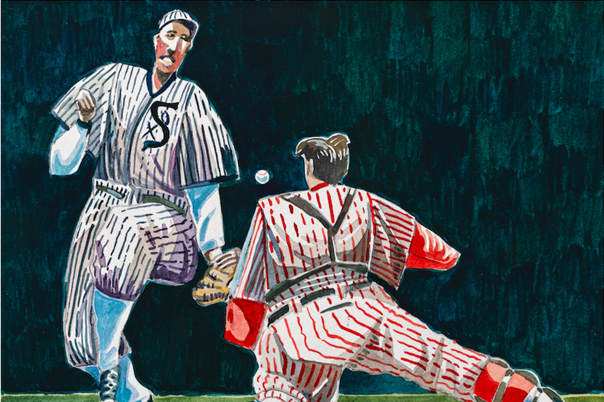 buy popular 147b6 b5727 1919 White Sox scandal: Artist brings Black Sox back to life ...