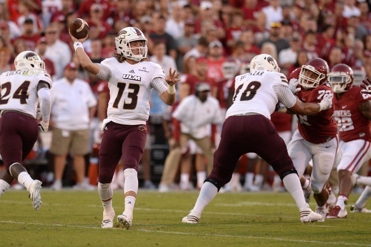 NCAA Football: UL Monroe at Oklahoma
