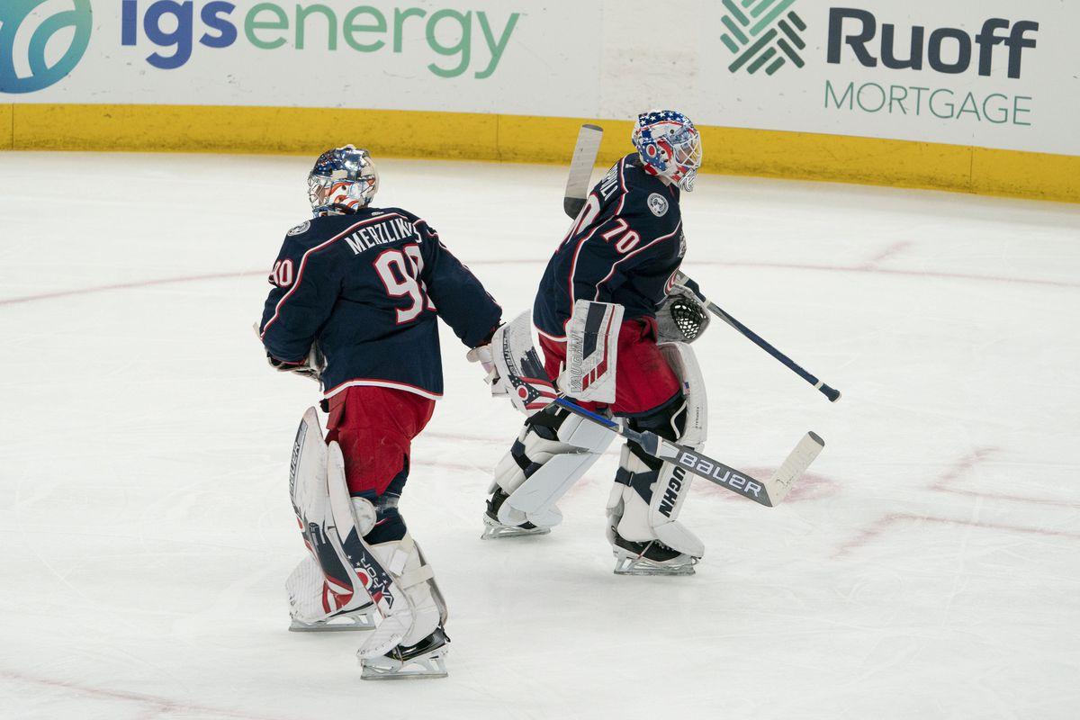 NHL: APR 08 Lightning at Blue Jackets