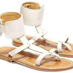 """<h1>The New White Sandal</h1><br> <i>K Jacques, <a href=""""https://editorialist.com/shoes/product/caravelle-sandals"""">$299</a></i><br> """"White is the new neutral this spring season."""""""