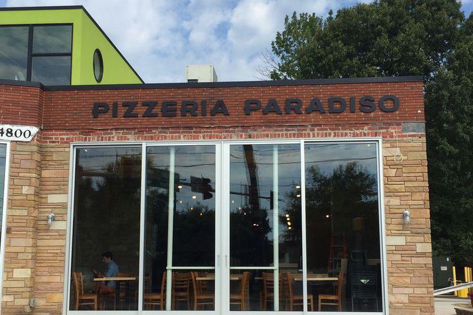 Pizzeria Paradiso MD exterior