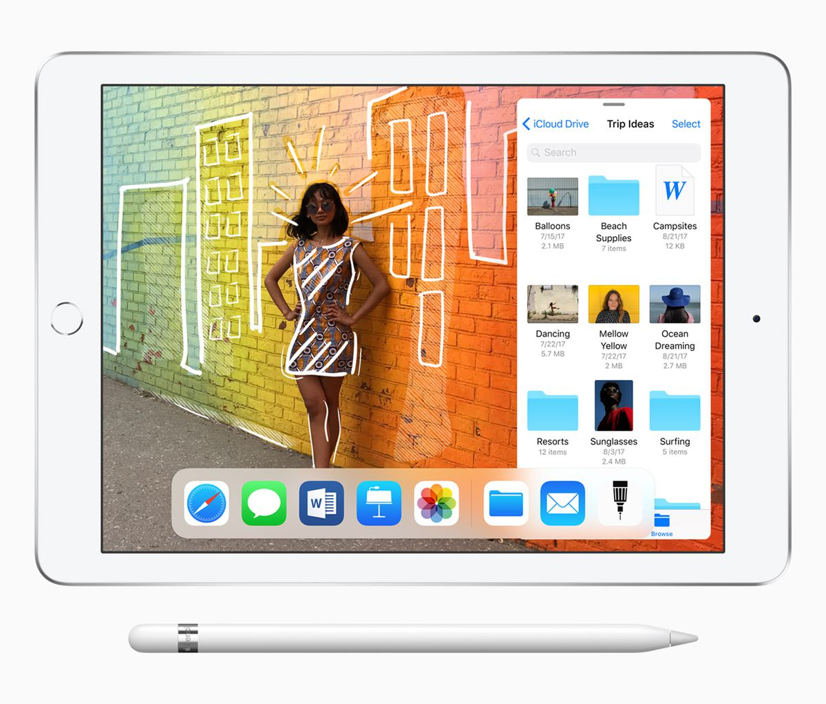 The 5 Biggest Announcements From Apple Education Event Verge Projects This Circuit Is Shown As An Educational Example Only Star Of Todays Announcement Was New Affordable Ipad With Stylus Support In Quotations Because It Costs 299 For Schools