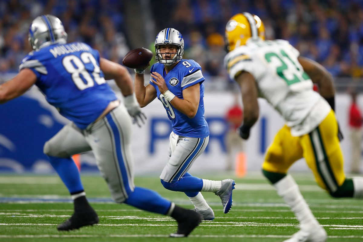 Green Bay Packers v Detroit Lions