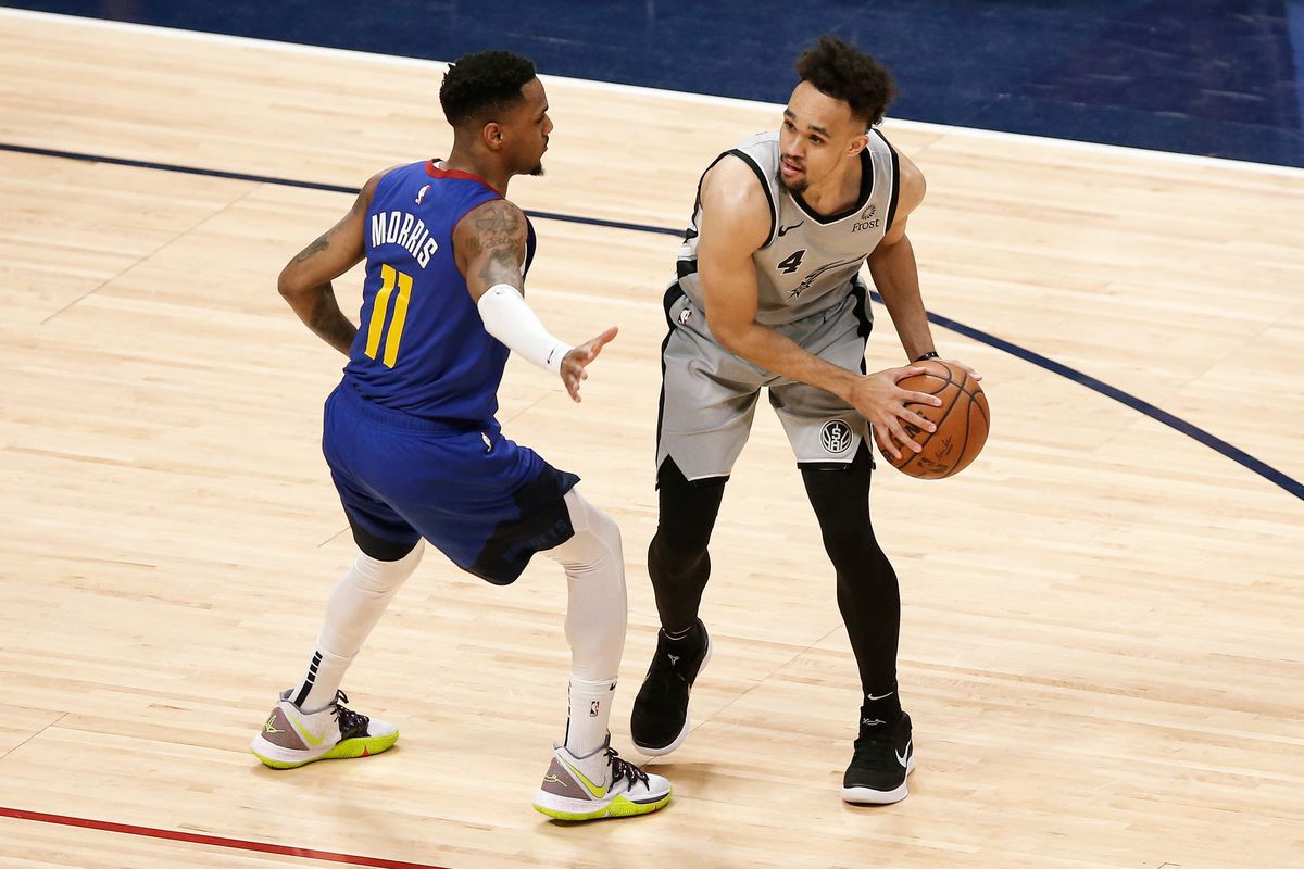 save off 347f5 1180e Denver Nuggets Tweet of the Week: Monte Morris excited for ...