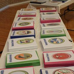 Nate Christensen has 59 1-inch binders filled with notes and pictures her used to pass off his merit badges. He completed 132 merit badges in the Boy Scouts of America scouting program. He also happens to be autistic.
