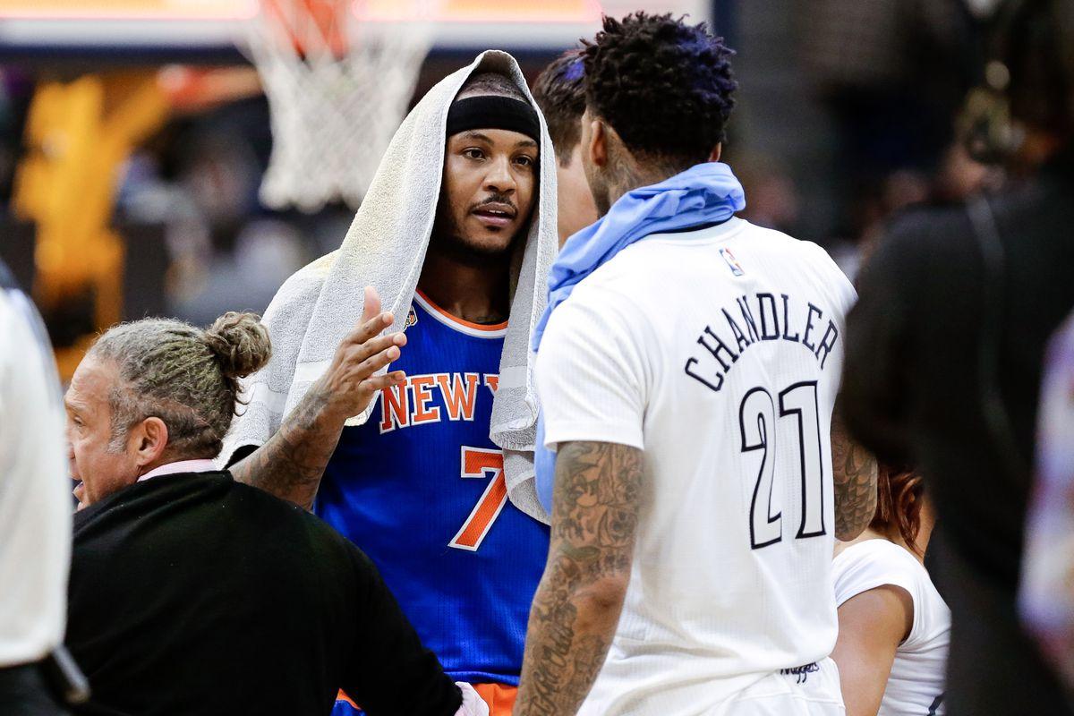NBA: New York Knicks at Denver Nuggets