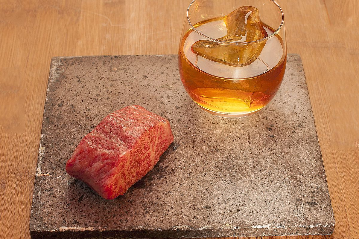 Wagyu cocktail at SushiSamba