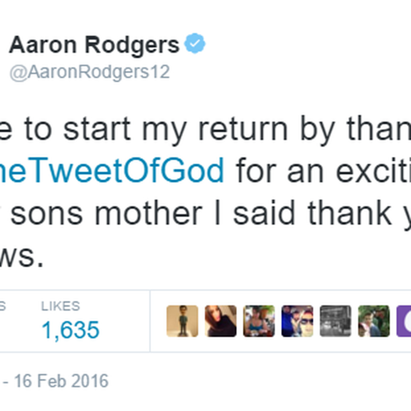 Garfield Porn aaron rodgers inadvertently links to garfield porn while