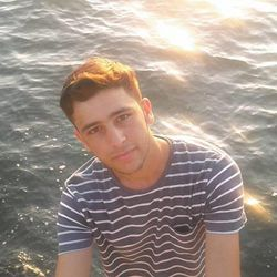 Zaidoon Khalaf, 16, a Yazidi refugee from northern Iraq, visits the waterfront in Thessaloniki, Greece, in 2016. Zaidoon lived in Greece for nine months as he made his way from Iraq to Germany to reunite with his family.