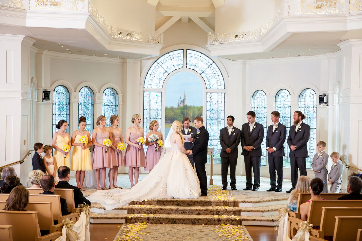 The S Ceremony In Disney Wedding Pavilion Photo David And Vicki Arndt