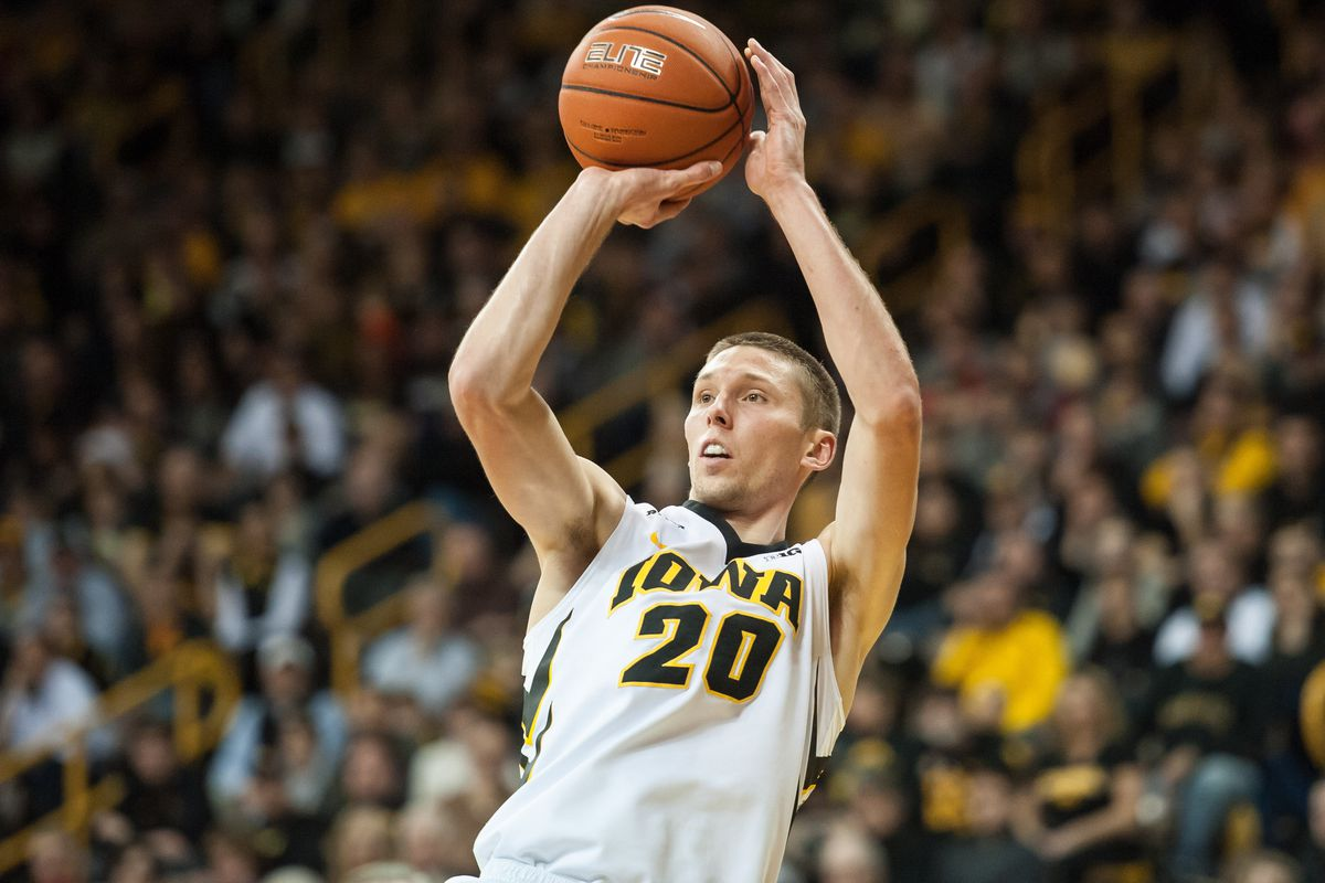 Jarrod Uthoff looks to be the third Hawkeye in three years to be drafted