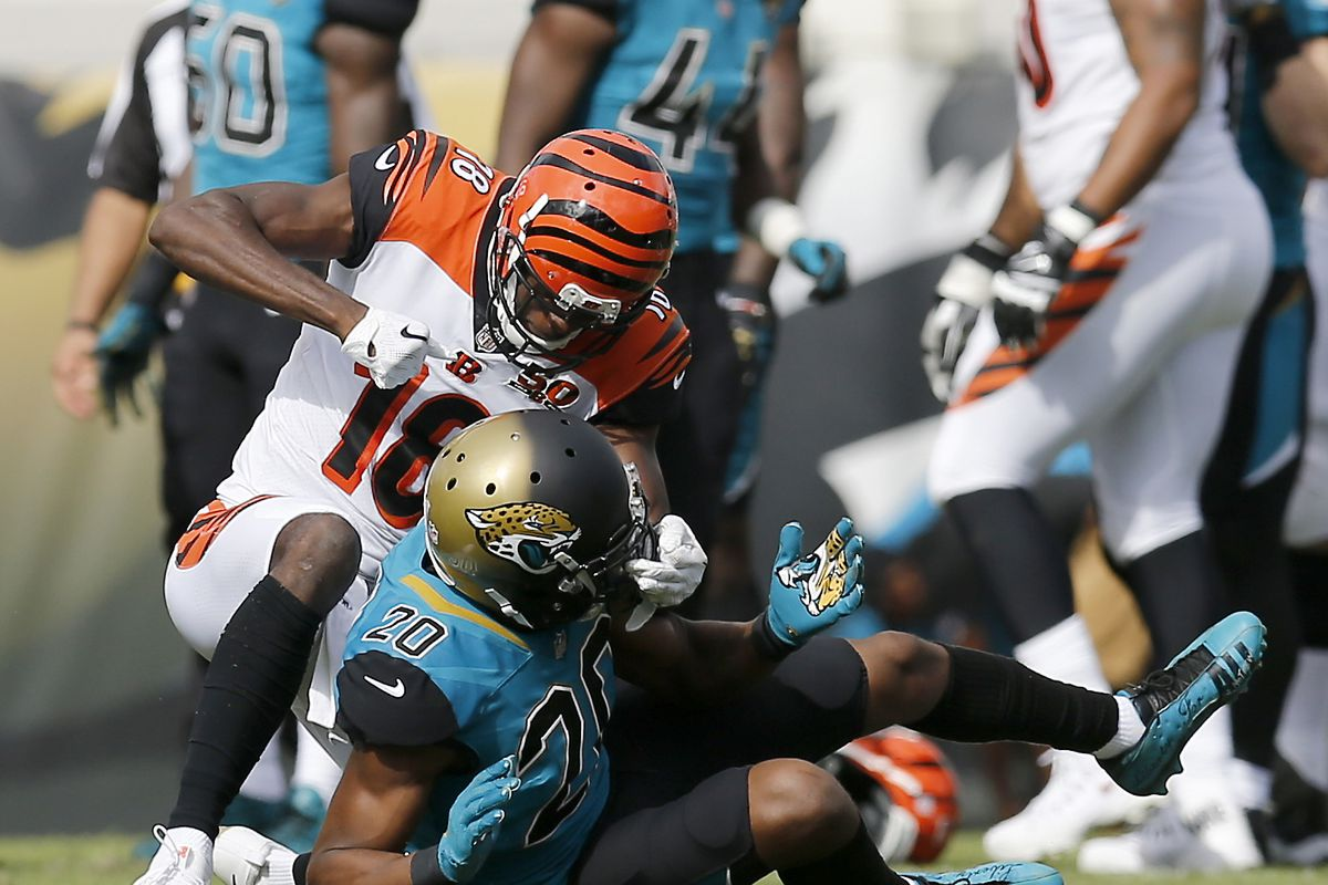 Bengals A J Green reacts to brawl with Jalen Ramsey ting