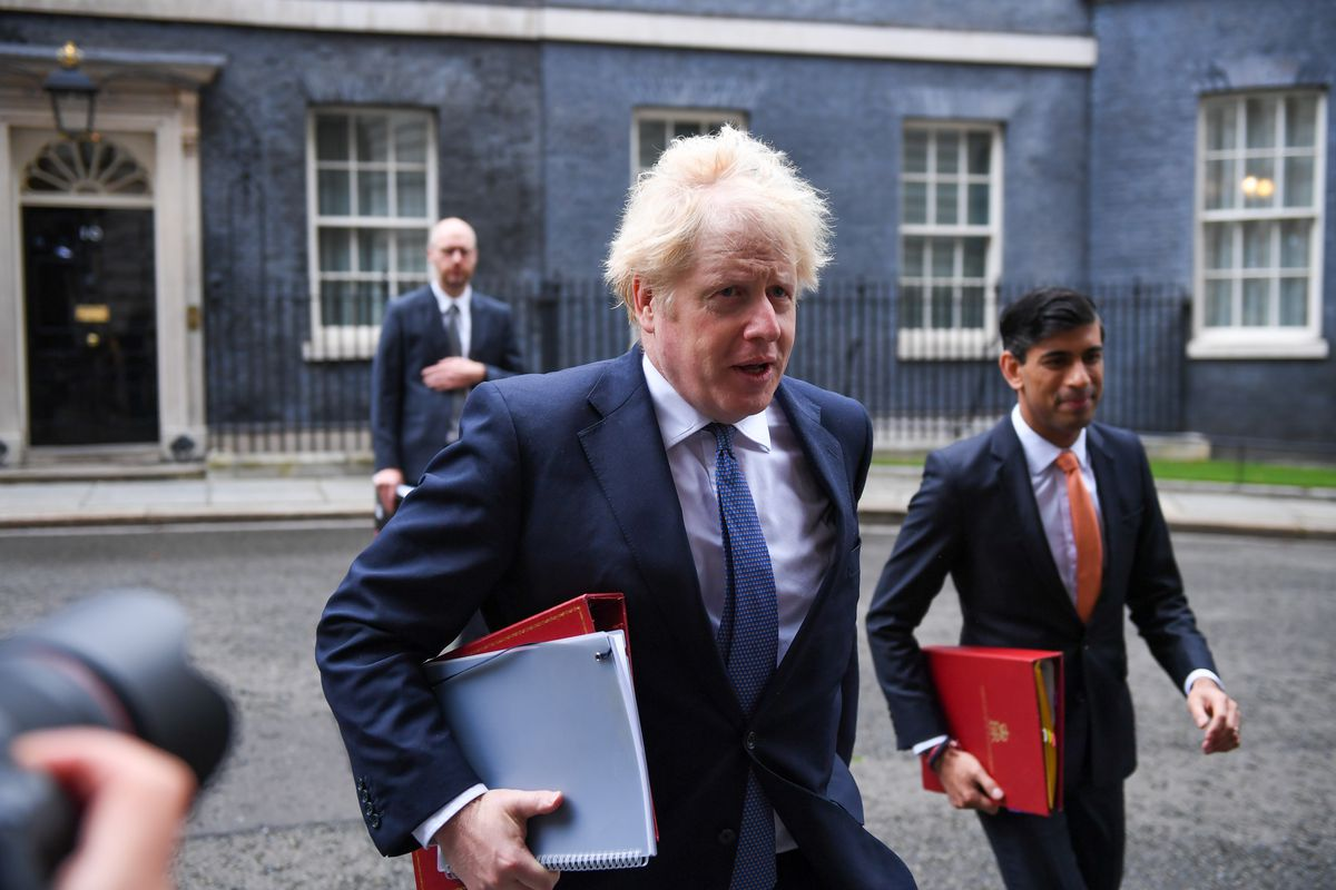 U.K. Cabinet Ministers Attend Weekly Meeting