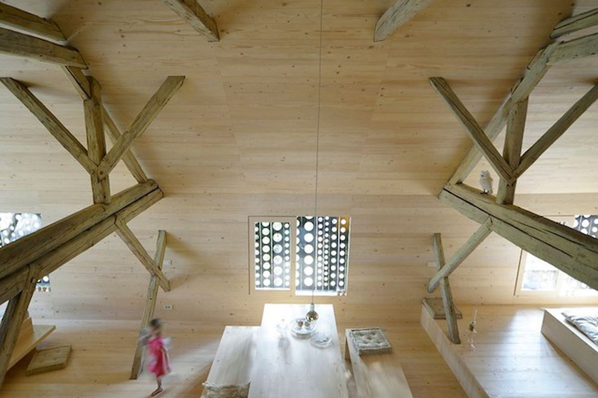 Bare-Bones Barn Loft in Slovenia Looks Surprisingly Livable ...
