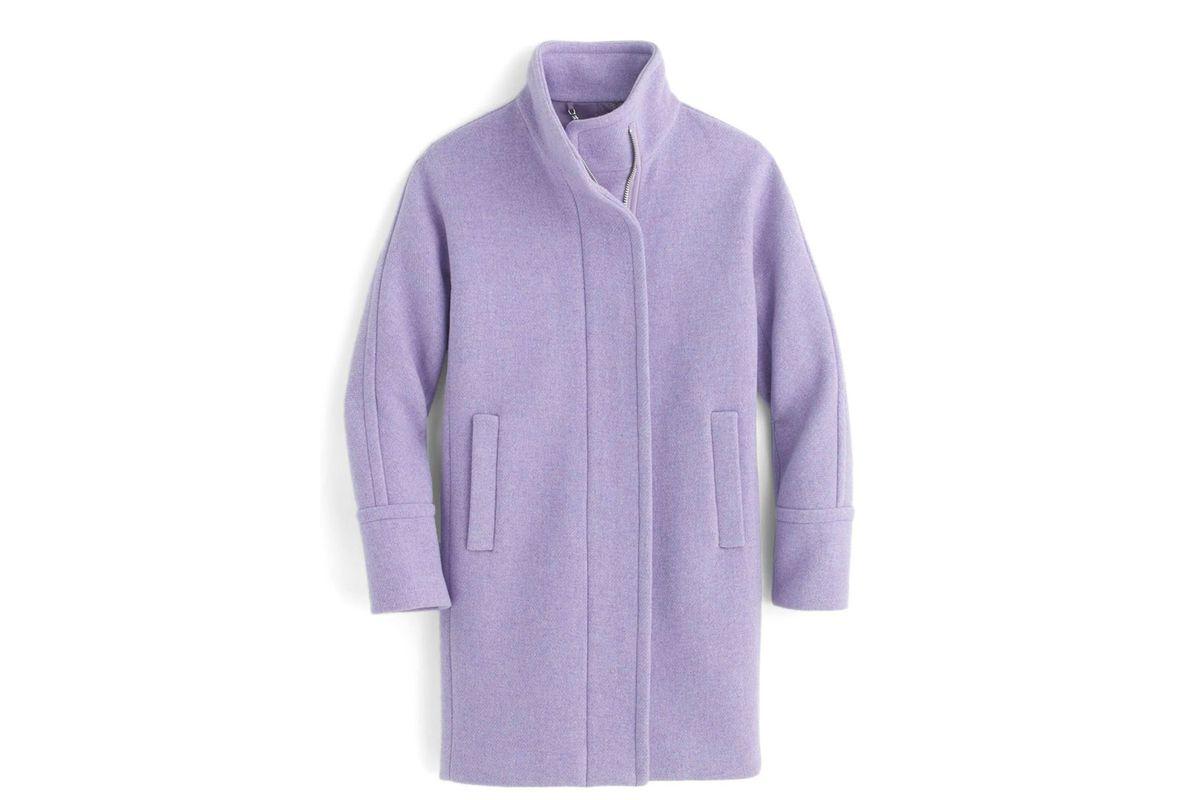 J.Crew purple coat