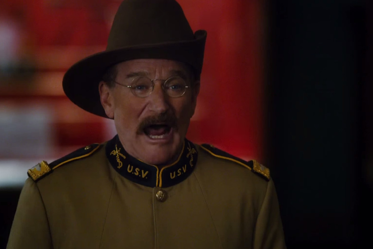 Robin Williams in Night at the Museum: Secret of the Tomb