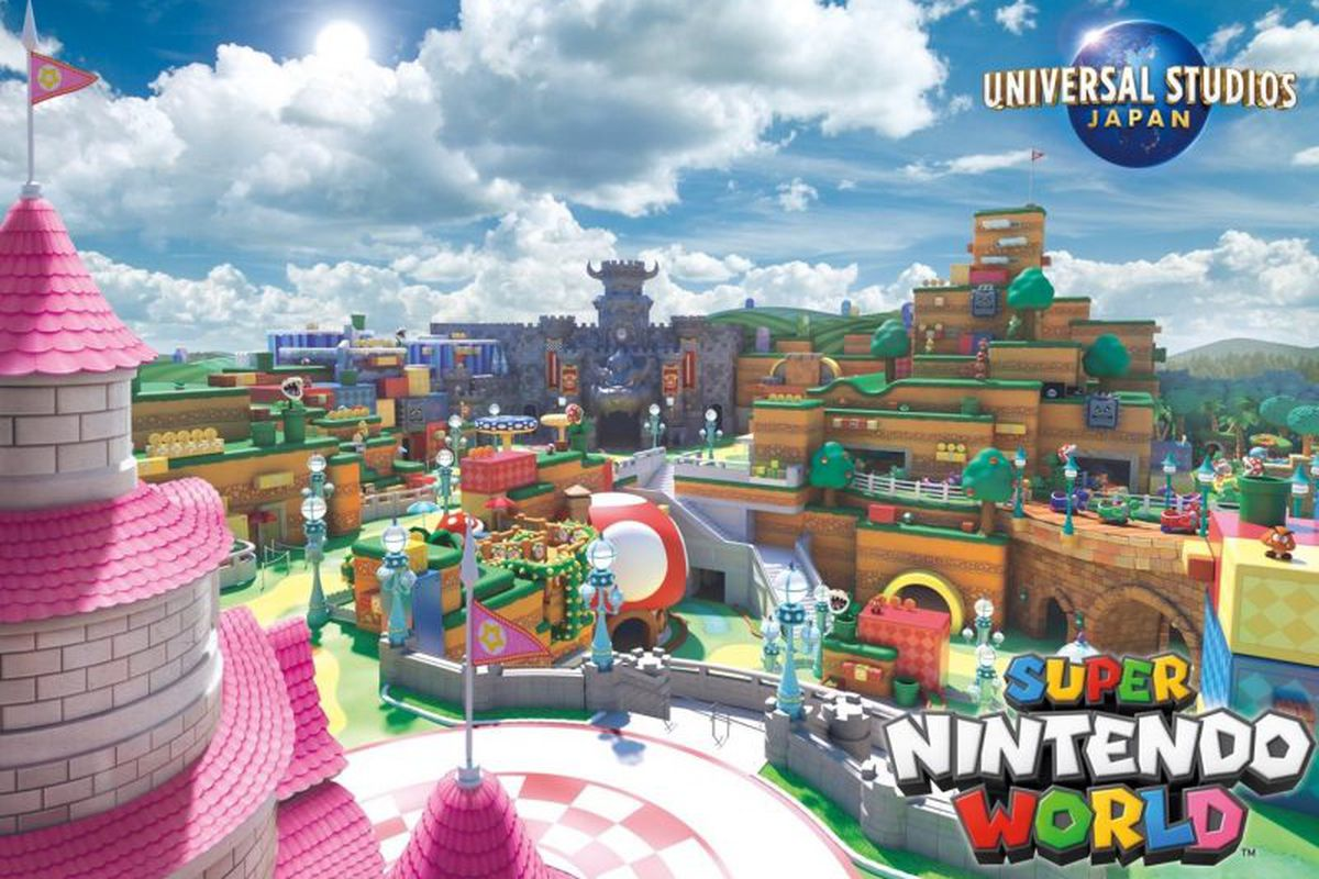 Japan Super Nintendo World opens on February 4th 2021 with AR Mario Kart rollercoaster