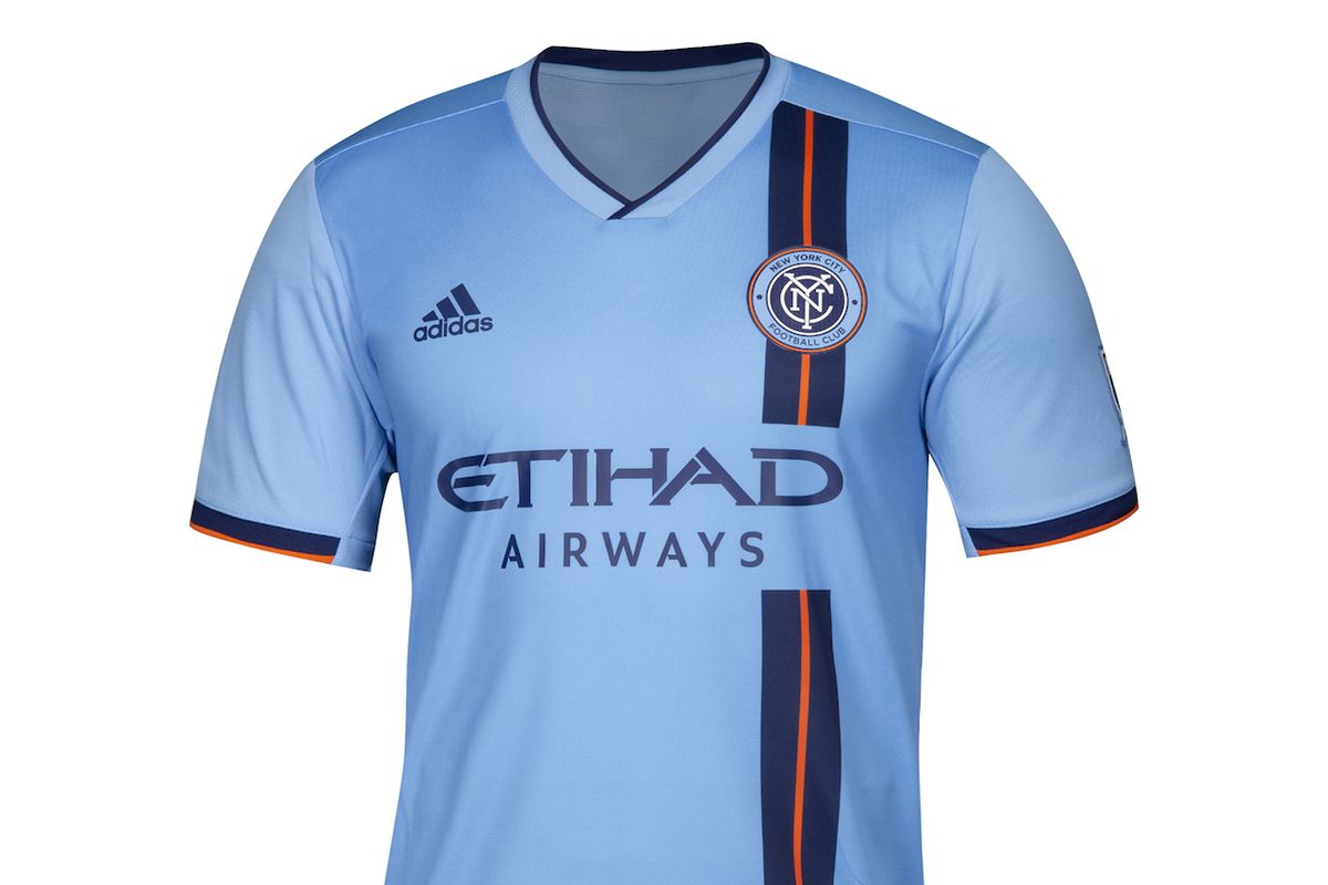 486feafcc NYCFC (finally) reveal 2019 home kit - Hudson River Blue
